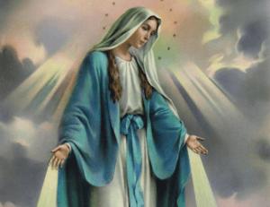 Comemoração a Maria